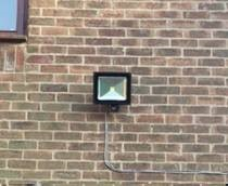 Security lights fitted by Lockforce Locksmiths in Beverley